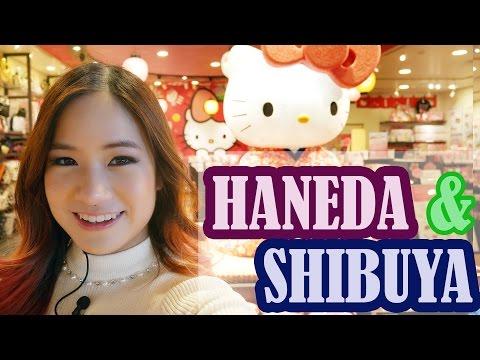 Japan Vlog: I'm on JAPANESE TV! | Haneda Airport & Shibuya ❤️