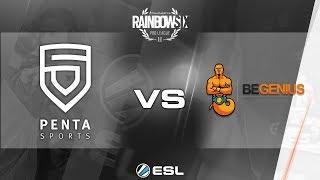Rainbow Six Pro League - Season 3 - PC - EU - Penta Sports vs. beGenius - Week 2