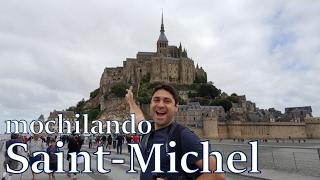Mochilando em Mont Saint-Michel, cidadela medieval na França