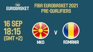 MKD v Romania - Full Game - FIBA EuroBasket 2021 Pre-Qualifiers 2019