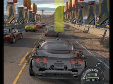 Need For Speed Pro Street Crash Video