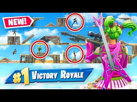 Extreme DEATH RUN In Fortnite Battle Royale