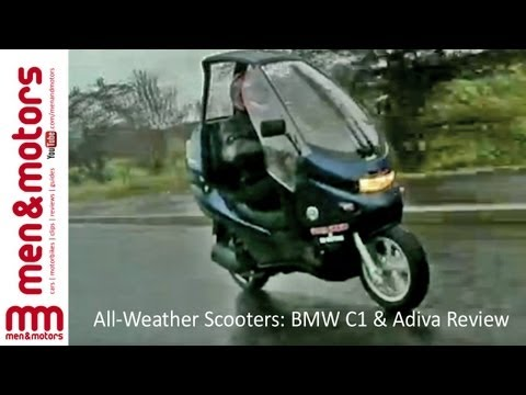 All Weather Scooters BMW C1 & Adiva Review