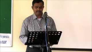 HCF 2015 Retreat with Bro Ratna kumar 23rd May, Day 1 Morning session