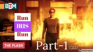 "The Flash Season 4 Episode 16 ""Run Iris, Run"" (Part-1) | IRIS as The Flash Best Tv Moment"