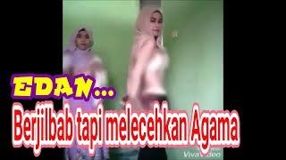VIRAL, 2 Wanita Indonesia Paling Dicari Melecehkan Dengan Buka Pakaian Sambil Pakai Mukena