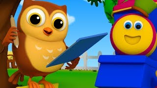 A Wise Old Owl Nursery Rhymes  For Kids Children Rhymes Learning Street With Bob the train2