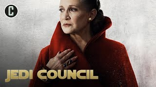 The Last Jedi: Will Leia Be Powerful in the Force? - Jedi Council