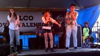 Palco Jovens talentos - Amar nao é Pecado  - Vinicius Rocha,Thais Cristina,Dafny Martins