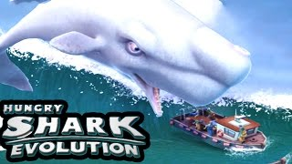 MOBY DICK...!!! | Hungry Shark Evolution | New Shark Christmas update
