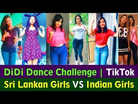 Xxx Mp4 DiDi Dance Challenge Sri Lankan Girls VS Indian Girls 3gp Sex