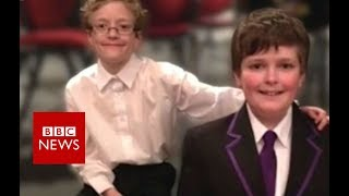 Domestic violence: The children affected - BBC News