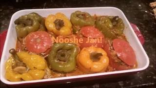 Stuffed Bell Peppers and Tomatoes (Dolmeh Felfel Persian) Armenian Recipe