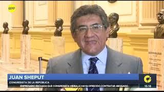 Ministra Bustamante y Juan Sheput se enfrentan por nombre del partido 'Contigo'