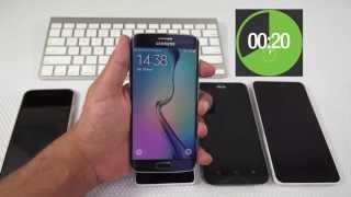 Speed Test : iPhone 6 Vs Galaxy S6 Edge Vs Zenfone 2 Vs Xiaomi Mi 4i Vs Lumia 640 XL
