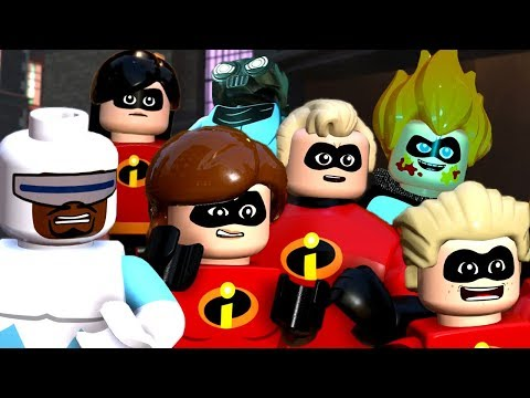 LEGO The Incredibles & Incredibles 2 All Cutscenes Movie