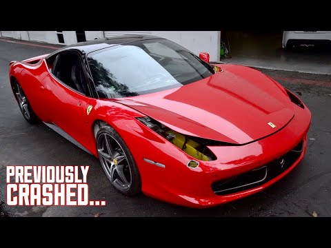 Xxx Mp4 My WRECKED Ferrari 458 Is A Car Again 3gp Sex