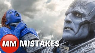 X-Men APOCALYPSE MOVIE MISTAKES You DIDN'T See |   X-Men