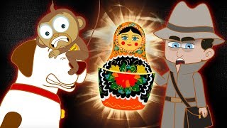 The Adventures of Annie And Ben: Magical Doll | Funny Animal Cartoon for Kids | HooplaKidz Toons