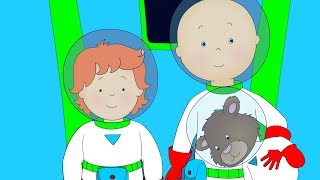 Caillou goes to Space | Funny Animated cartoons Kid | WATCH ONLINE | Cartoon for Children