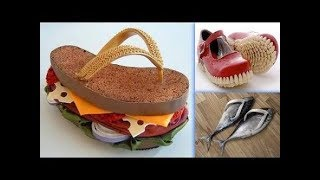 Most bizarre weird women's shoes you'll ever see by princess choice