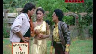 Govinda in love with Madhuri Dixit - Izzatdaar