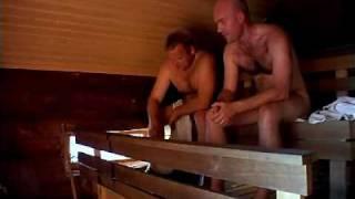 Hot Finland - Naked men in sauna