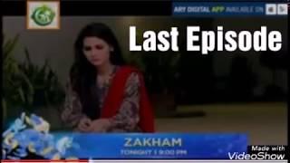 Zakham Last Episode Promo | ARY Digital Drama