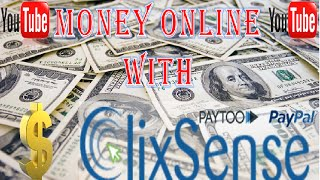 Work from home with Clixsense Ptc + Best (Payment Proofs) 2015 - 2016 paypal
