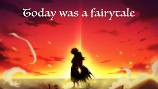 Natsu X Lucy - Today was a Fairytale
