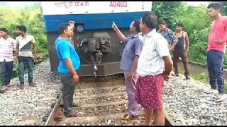 Train No.18005 HWH-JDB Samaleswari Exp Derailed