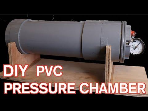 気泡ゼロ、プレッシャーポンプの� �り方 How to make pressure chamber for resin casting.