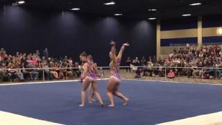Senior Women's Trio Vegas Acro Cup 2017