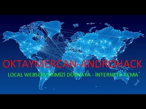 Localhost web serverimizi dünyaya-internete açma