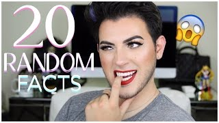 20 RANDOM FACTS ABOUT ME | THINGS YOU DIDN'T KNOW | MannyMua