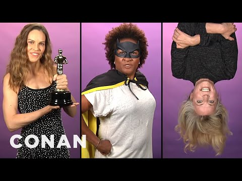 Batgirl Audition Tapes CONAN on TBS