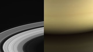 Cassini's last images from Saturn