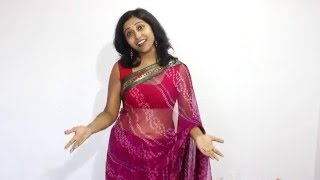 Hot Sexy Aunty Deep Navel Through Saree
