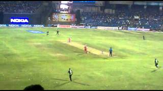 CLT20 2011 first over.mp4
