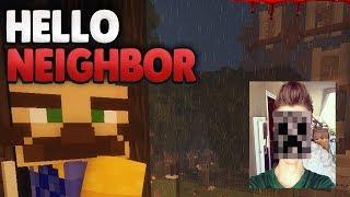Locky's BRUDER ?!😨 | Minecraft Hello Neighbor + FOTO von mir