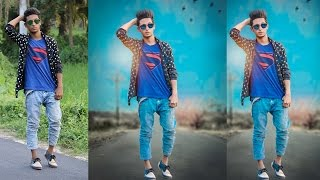 Photoshop Manipulation Tutorial in Bangla | Edit Your Photo Like  professional Editor