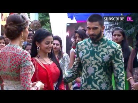 Xxx Mp4 Ranveer Singh And Deepika Padukone Visit Sets Of Swaragini For Bajirao Mastani Promotions 3gp Sex