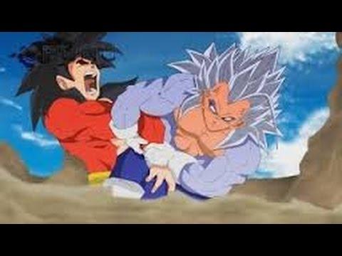 Evil Goku Vs Vegeta ● Super Saiyajin 5 ● Animacion Mundo Dragon Ball