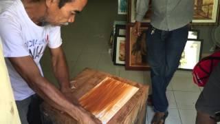 Pelukis tanah liat Makassar