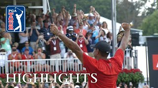 Tiger Woods' highlights | Round 4 | TOUR Championship 2018