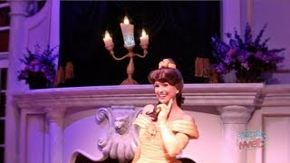 Full Enchanted Tales with Belle experience in New Fantasyland at Walt Disney World