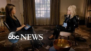 We had Jennifer Aniston and Dolly Parton interview each other