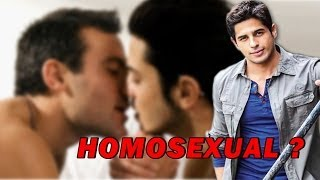 Siddharth Malhotra becomes Homosexual for Karan Johar !