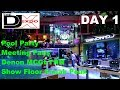 Download Video Download DJ Expo 2018 | SHOW FLOOR Sneak peek | First look Dennon MCGLYNN 3GP MP4 FLV