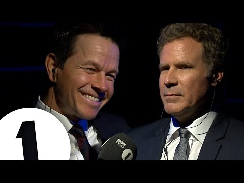 Will Ferrell & Mark Wahlberg Insult Each Other CONTAINS STRONG LANGUAGE